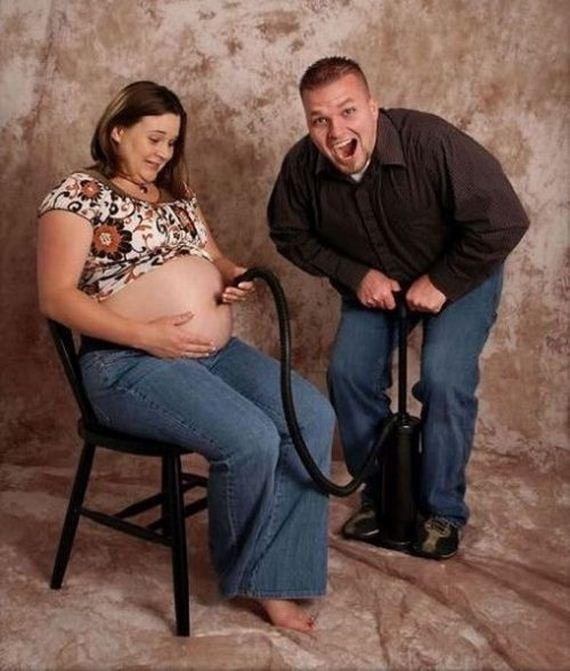 фото полных беременных девушек