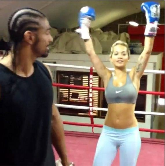 08-David-Haye-Rita-Ora-Spars-Boxing-Champ-David