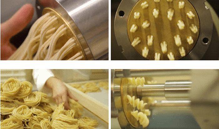 Как сделать пасту из теста 49