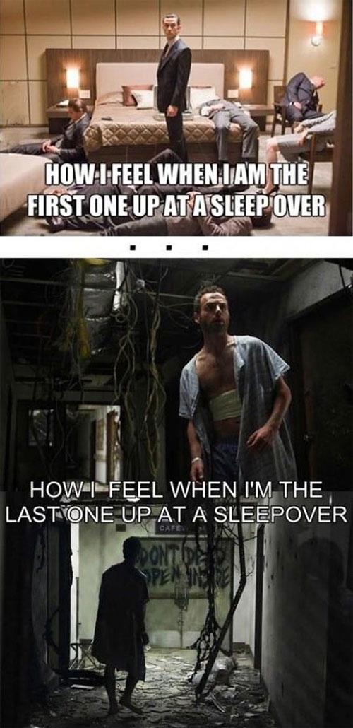 sleep-over