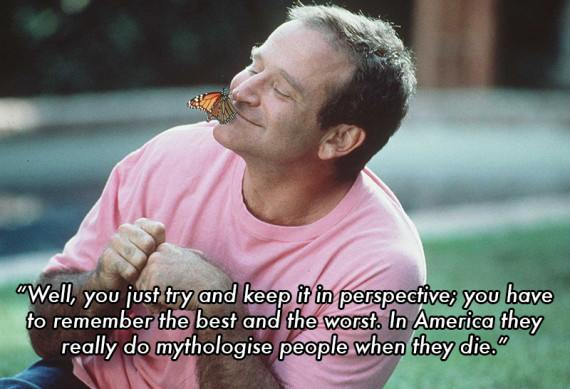 "1996 Robin Williams stars in his new movie ""Jack"""
