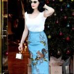 Dita Von Teese – Shopping at Vivienne Westwood in Los Angeles