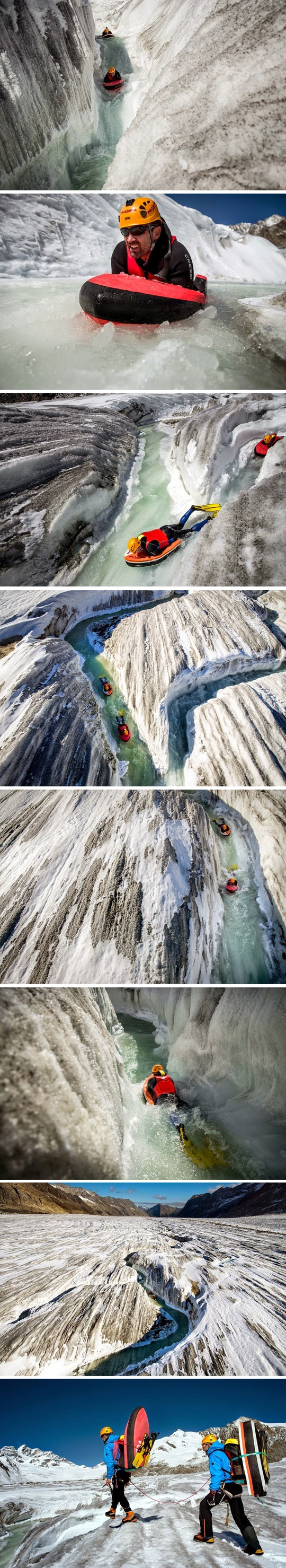 cool-glacier-water-slide-fun