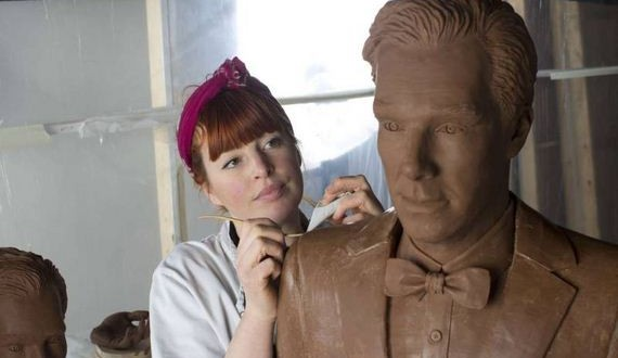 01-Benedict-Cumberbatch-chocolate-sculpture