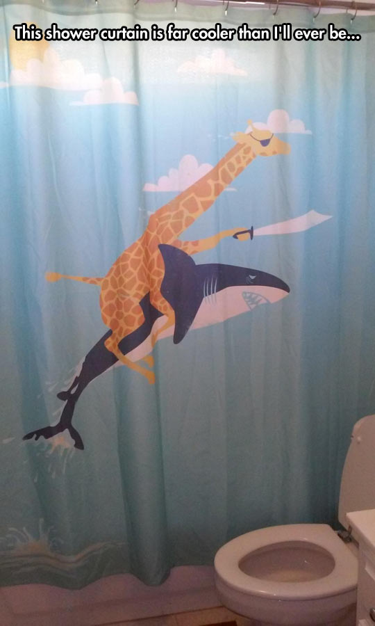 I love this shower curtain barnorama for Really cool shower curtains
