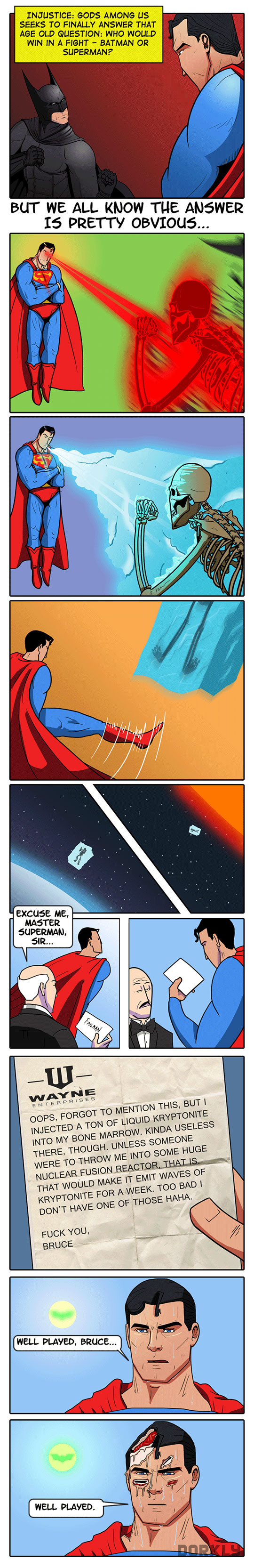 funny-Superman-Batman-trap-melting