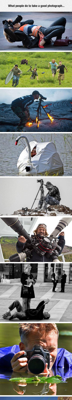 funny-cool-photographer-pose-fox-lake-swan