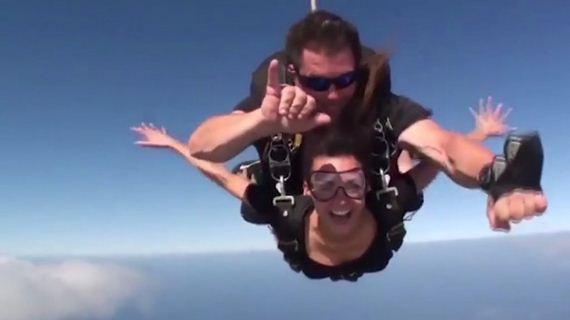 13-Nina-Dobrev -Goes-skydiving