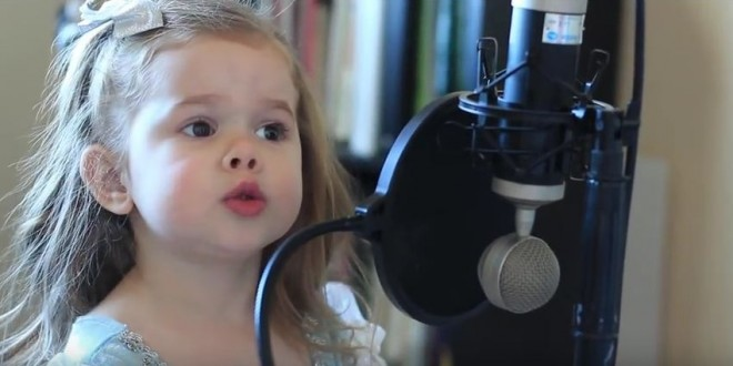 Adorable-Little-Girl-Sings-Disney
