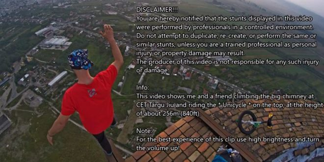 romanian-daredevil-ride-unicycle-atop-840-ft-chimney-video