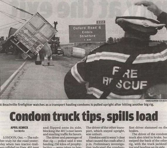 My Latest Article On Things: Weird Newspaper Headlines That Are Unintentional But Funny