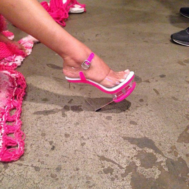 Nicki Minaj Feet Barnorama