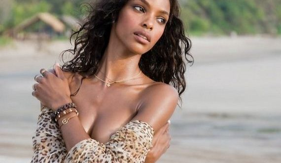 Quiana Grant, poses on location in Nicaragua during her first year in Sports Illustrated's Swimsuit 2008 issue.