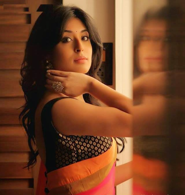 kritika-kamra-hot-in-saree