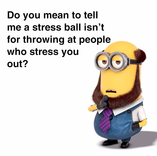 cool-minion-laughing-stress-people