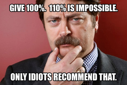 cool-ron-swanson-impossible-percentage