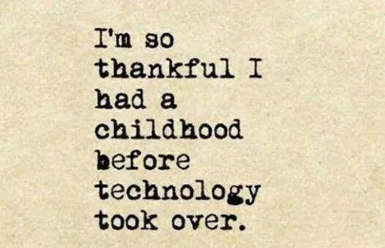 cool-childhood-technology-thankful-took-over