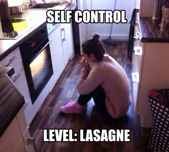 cool-girl-oven-waiting-lasagna
