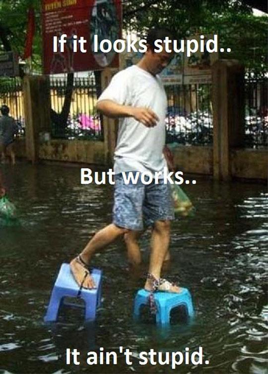 cool-man-walking-flood-chairs-tied