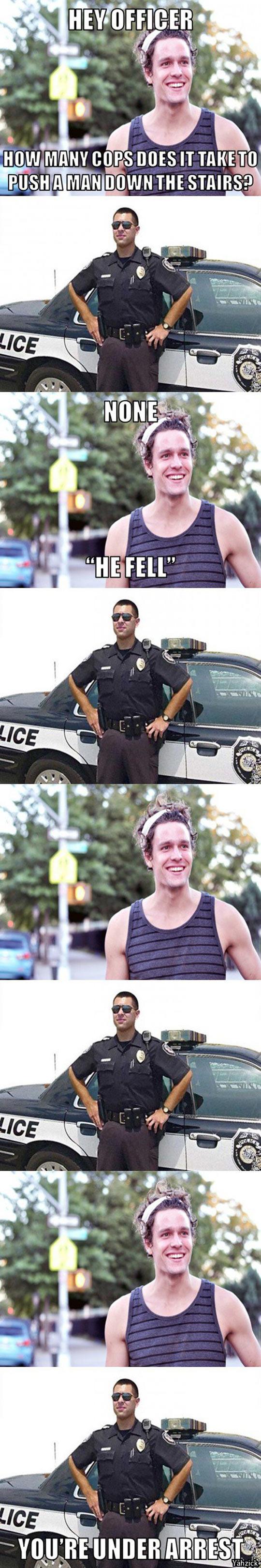 cool-officer-pun-joke-man-down-stairs