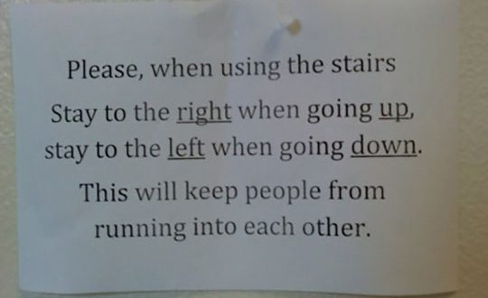 cool-stairs-sign-direction-wrong