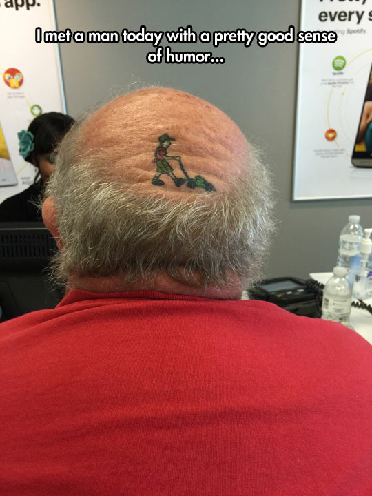 cool-tattoo-lawnmower-bald-head