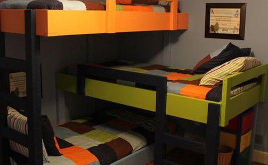 cool-triple-bunk-beds-kids-room0
