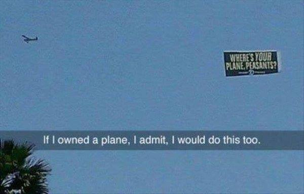 funny-plane-sign-rich-man