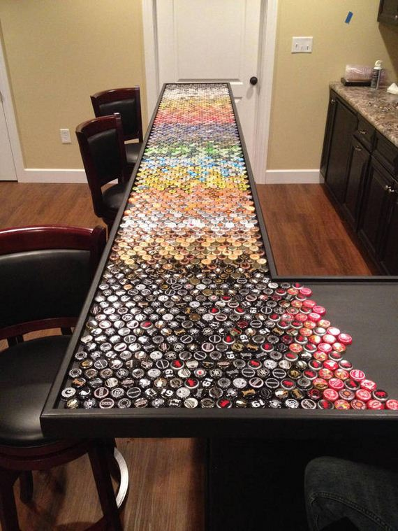 12-guy_makes_an_awesome_bottle_cap_bar_top