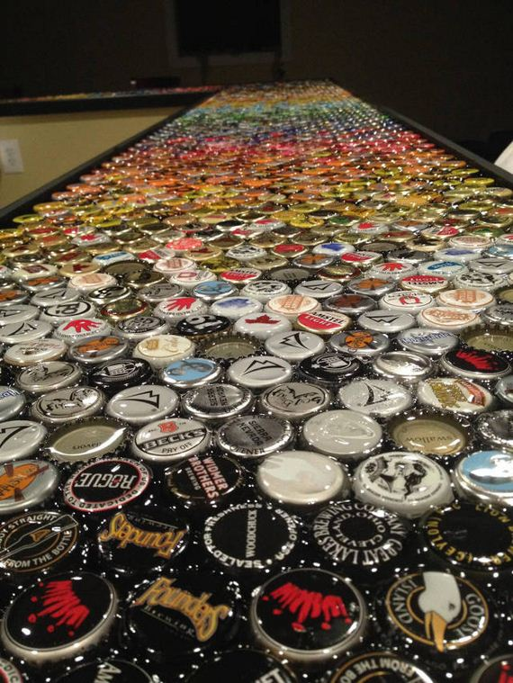 14-guy_makes_an_awesome_bottle_cap_bar_top