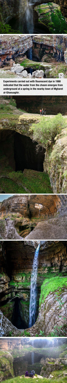 2-cool-three-bridge-cave-waterfall-beautiful
