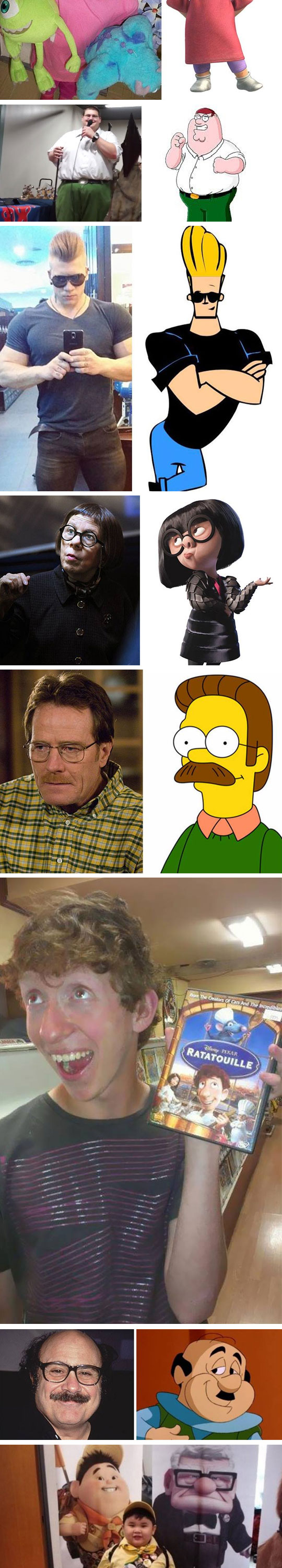 2-funny-ned-flanders-walter-white-lookalike