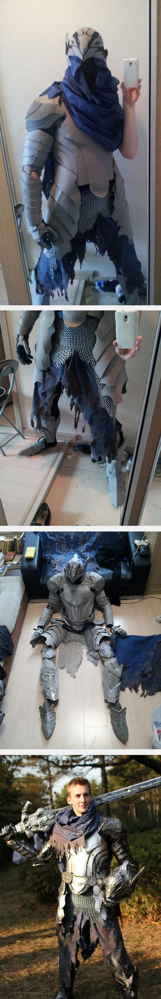 3-funny-cosplay-brothers-artorias-knight-design