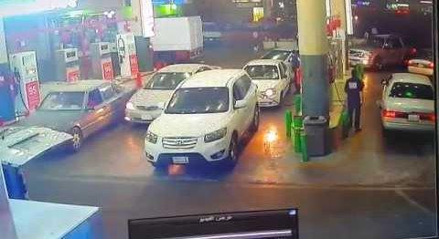 car-caught-fire