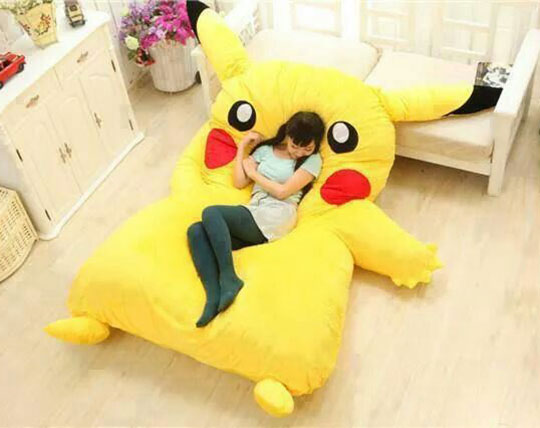pikachu-bed-girl-room