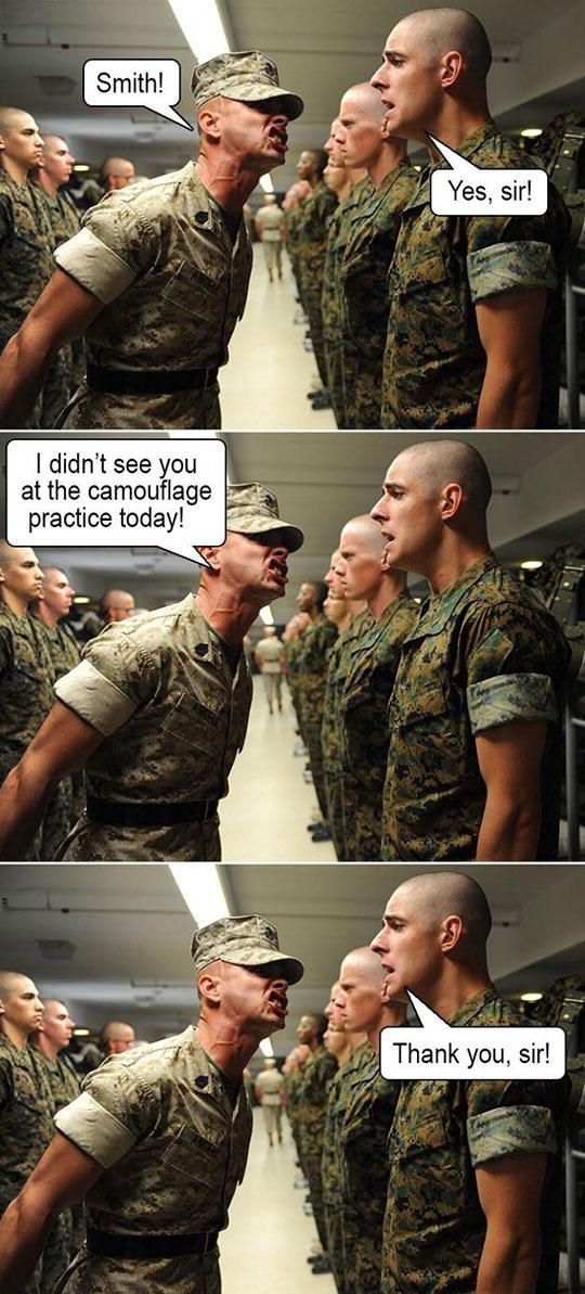 cool-soldier-line-camouflage-uniform