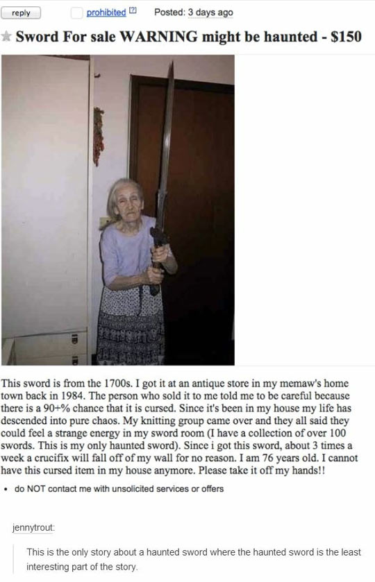 cool-sword-haunted-sale-old-lady