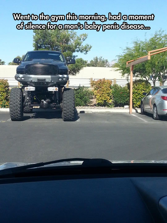 funny-monster-truck-gym-parking