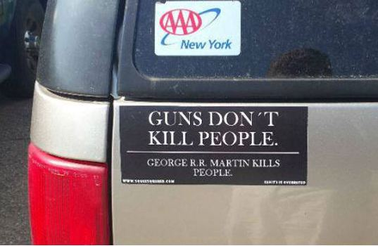 funny-bumper-sticker-weapon-people-george-martin