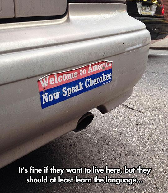 funny-car-bumper-sticker-america-cherokee