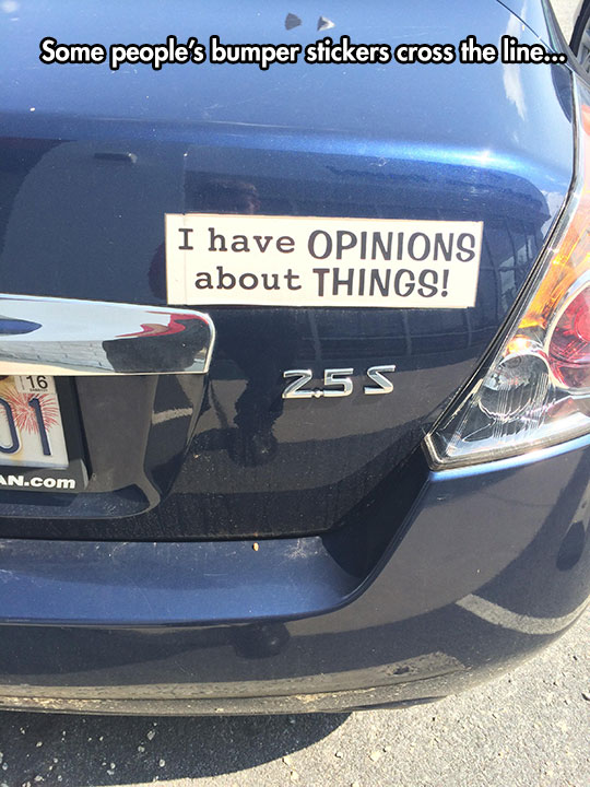 funny-car-bumper-sticker-opinion