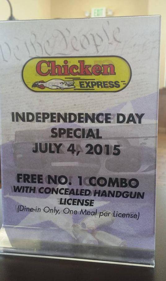 funny-chicken-restaurant-weapon-license