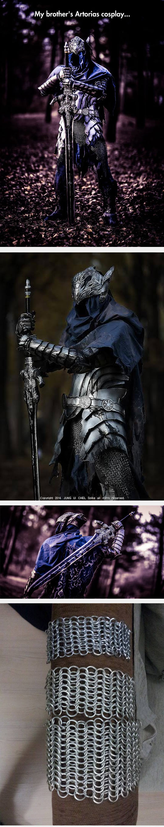 funny-cosplay-brothers-artorias-knight