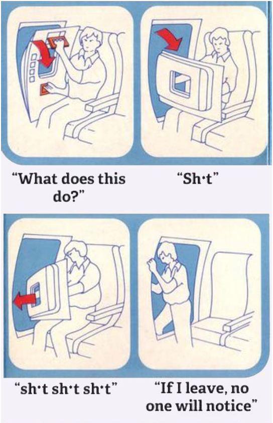 funny-door-airplane-break-jump-instructions