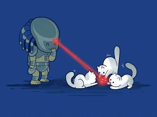 cool-predator-playing-laser-cats