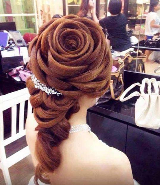 cool-rose-shaped-hair-girl
