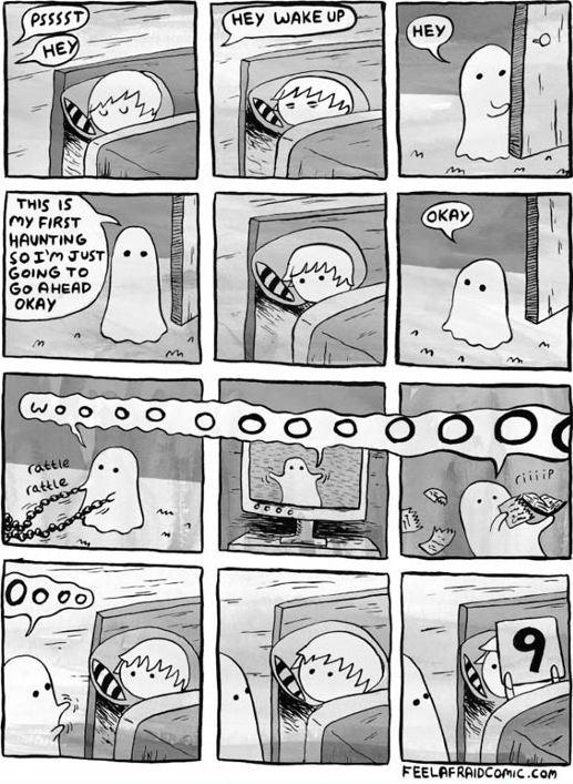 cute-ghost-comic-scaring-boy