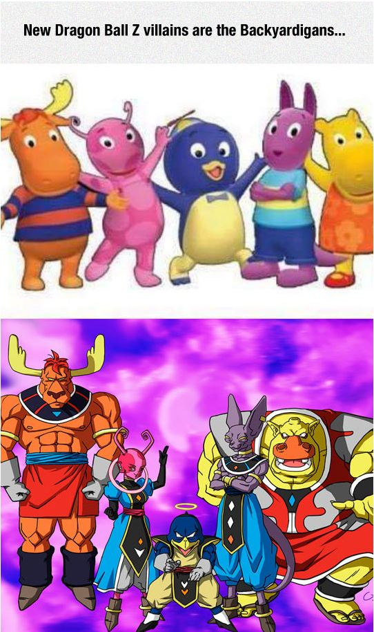 funny-dragon-ball-z-backyardigans