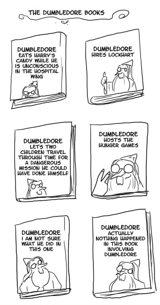 funny-dumbledore-books-harry-potter-comic