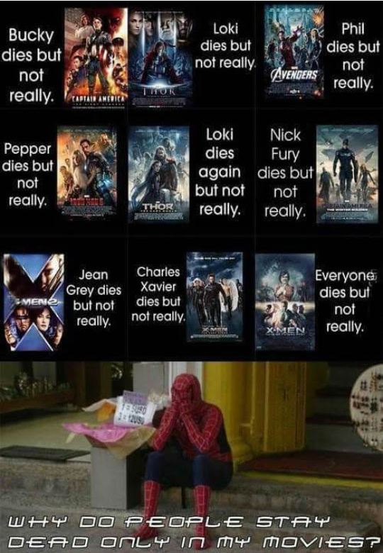 funny-marvel-movies-dies-resurrect-spiderman